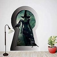 UYEDSRウォールステッカーハロウィンウォールステッカーアート3Dポスターデカール壁画家の装飾50x70cm