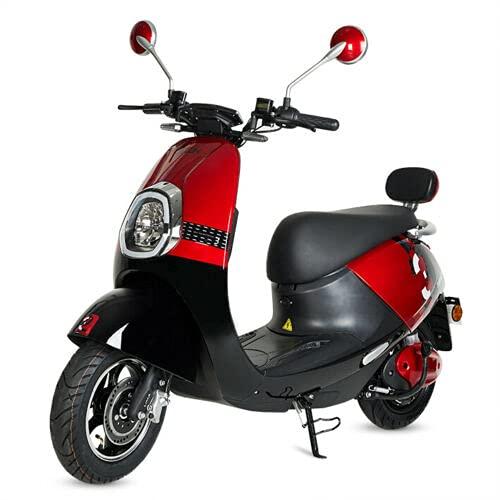 Virtuemart Moto electrica Scooter matriculable Bella de 800w bateria de 20Ah 60v...