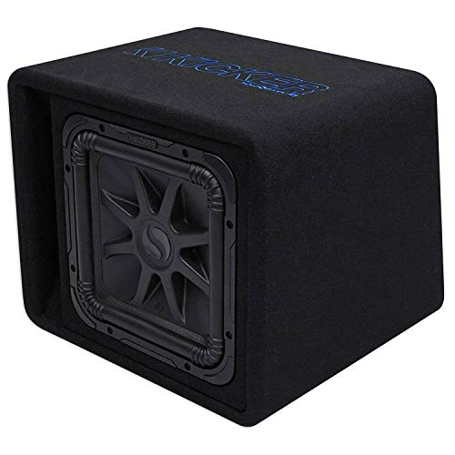 Kicker 12' 1500W Single Loaded Solo-Baric L7S 2 Ohm Subwoofer Enclosure