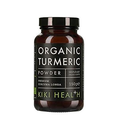 KIKI Health Organic Premium Turmeric Powder, 150 g