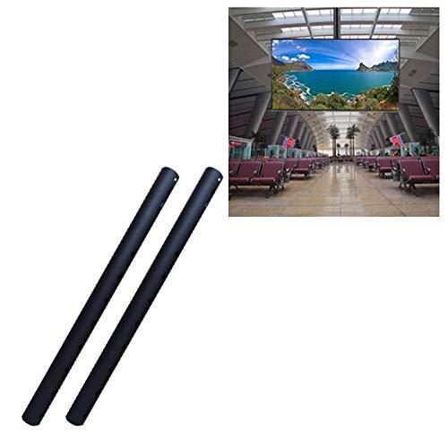 Luoshan Polo Alargado de 32-70 Pulgadas y 32-65 Pulgadas Universal única Pantalla de TV Soporte de Techo, Longitud: 1m