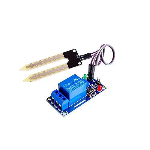 Read About DC 12V Soil Moisture Sensor Relay Control Module Automatic Watering of The Humidity Start...