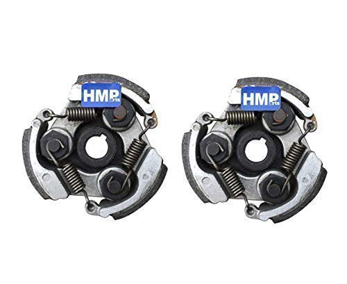 HMParts 2X Fliehkraftkupplung Kupplung 47/49 CCM Pocket Bike Dirt Bike ATV Quad