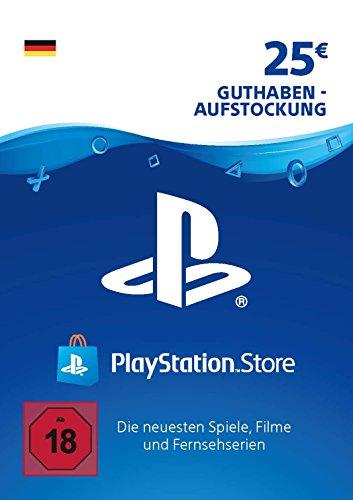 PSN Guthaben-Aufstockung | 25 EUR | deutsches Konto | PS5/PS4/PS3 Download Code