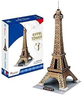 CubicFun Eiffel Tower 3D Puzzle 82 Pieces
