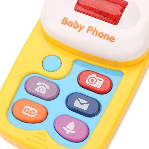 Juguete seguro del teléfono móvil, juguete del teléfono móvil del bebé, niños respetuosos del medio ambiente de las muchachas para los niños del bebé
