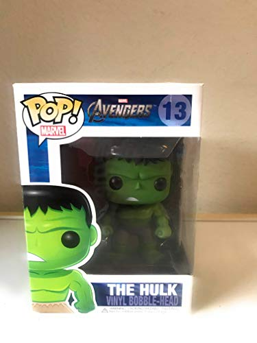 Funko Pop Marvel (Bobble): Avengers - Hulk image