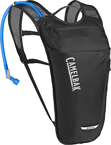 CAMELBAK 3090701 Unisex– Erwachsene Rogue Light Trinkrucksack, Black/Silver, One Size