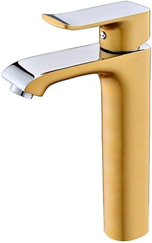 SZ Noble Gold 1Loch Single Griff Waschbecken Armaturen