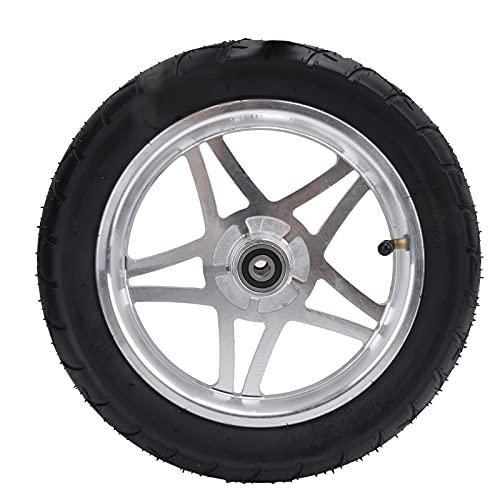 Jopwkuin Felgen- und Reifenset, Faltbare 12-Zoll-Reifen zum Zusammenklappen von Elektrofahrrädern