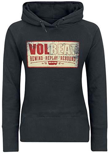 Volbeat RRR Square Logo Frauen Kapuzenpullover schwarz L