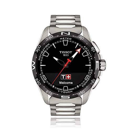 Tissot Herren-Uhren Analog, digital Quarz One Size Silber 32015114