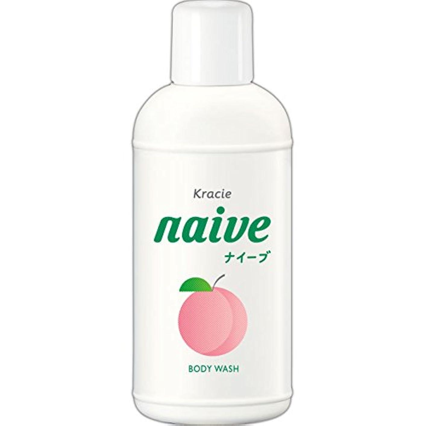 混乱した蓄積する奨学金ナイーブ ボディソープ 桃の葉エキス配合 80ml