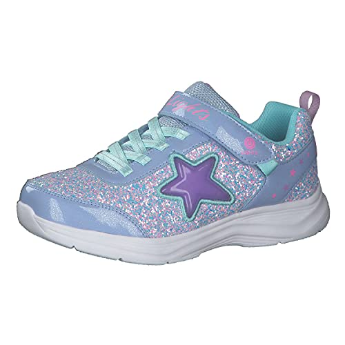 Skechers Mädchen Glimmer Kicks Starlet Shine Sneaker, Lvaq, 28 EU