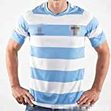 ZSZKFZ Argentine 2019 Accueil Rugby Uniforme, Jersey T-Shirt Manches Mi-Longues (Color : Blue, Size : XL)