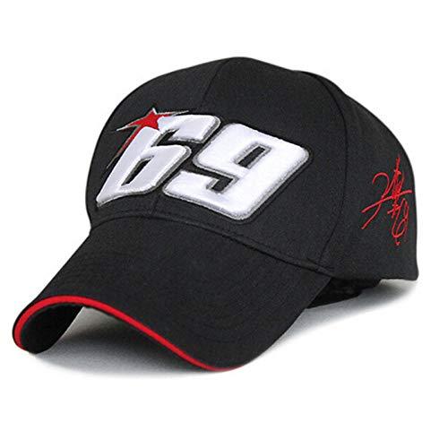 Bearsol Gorra Nicky Hayden 69 Motociclismo Deporte Moda Unisex