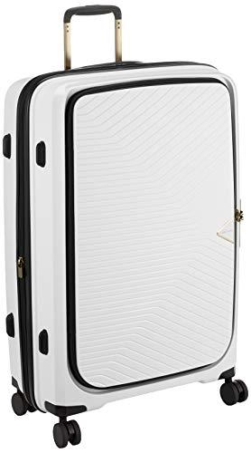 [シフレ] スーツケース ハードジッパー GREEN WORKS(グリーンワークス) 軽量 拡張機能付 GRE2197-70 80L 70 cm 4.2kg ホワイト