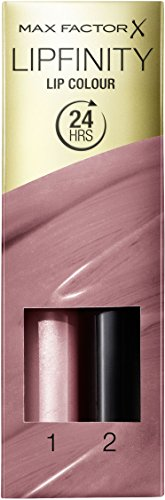 Max Factor Lipfinity Lip Colour Pearly Nude 01 – Kussechter Lippenstift mit 24h Halt ohne...