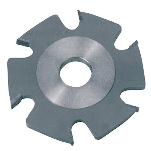 Original Einhell Ersatzfräserblatt (Flachdübelfräsen-Zubehör, Maße: Ø100 x Ø22 x 3,8mm, 6 Zähne, passend für Einhell Flachdübelfräse)