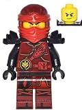 LEGO NinjaGo Minifigure - Kai (Hands of Time, w/ Black Armor) 70627