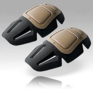 Crye Precision Airflex Combat Knee Pads 03 G3 Khaki Set by Crye Precision