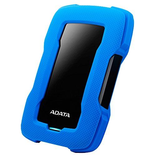 Adata AHD330-4TU31-CBL Disco Duro Externo Portátil HD330 Resistente a Golpes   4TB, 2.5″, USB 3.1 Gen1,…