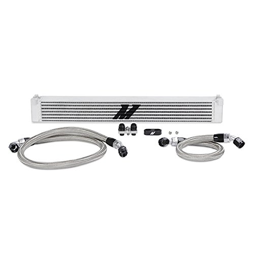 Mishimoto MMOC-E46-01 Oil Cooler Kit Compatible With BMW E46 3-Series 2001-2006 Silver