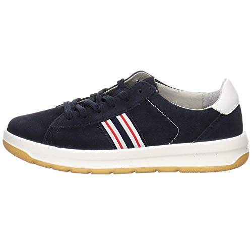 Ricosta Jungen Sneaker Dublin Velour blau Gr. 39