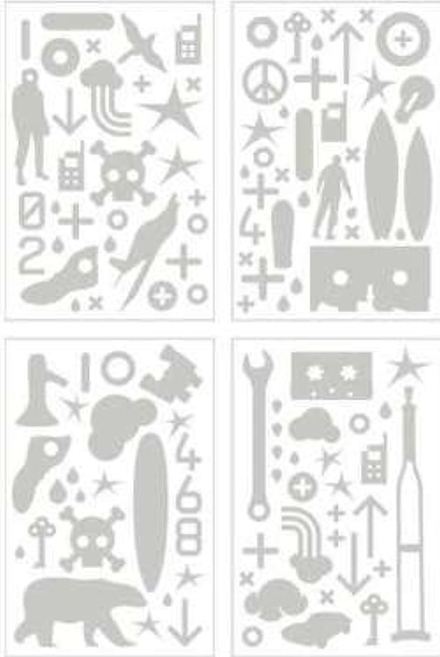 Basic Grey Chipboard Set - Obscure - 4 Sheets