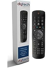 DigitalTech® - Mando Universal para televisores Philips. Compatible con más de 250 mandos Philips.