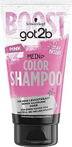 SCHWARZKOPF GOT2B Color Shampoo, Haarfarbe Pink, 1er Pack (1 x 150 ml)