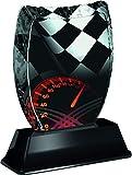 Trofeo Monster Iceberg - Piastra con incisione per tachimetro per motori e campionati, in acrilico stampato (3 misure) (180 mm)