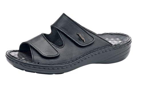 Abeba, Herren Sicherheitsschuhe Schwarz schwarz 40