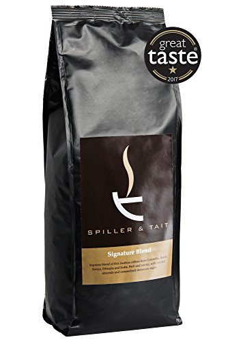 Spiller & Tait Signature Blend Coffee Beans - 1kg Bag -...