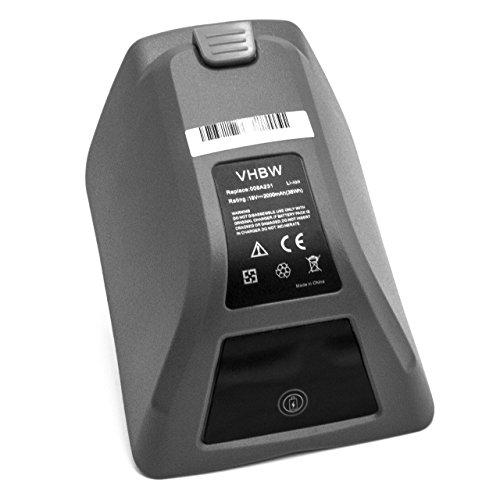 vhbw Akku passend für Gardena 8025-20 Comfort Wand-Schlauchbox 35 roll-up automatic Li ersetzt 008A231 (Li-Ion, 2000mAh, 18V)