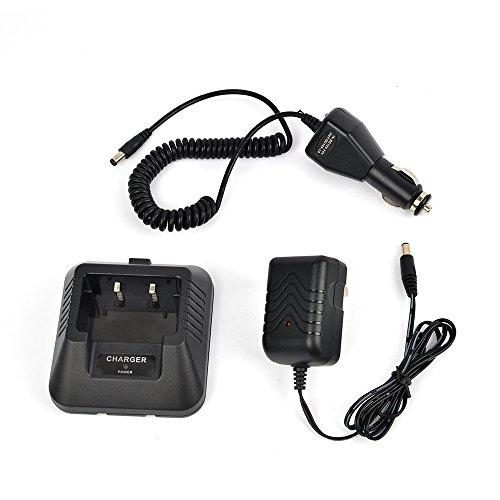 Ham Radio Base Desktop Charger DC 12V Car Charge Cable for Baofeng UV-5R UV-5RA UV-5RB UV-5RC UV-5RD UV-5RE UV-5Replus TYT TH-F8