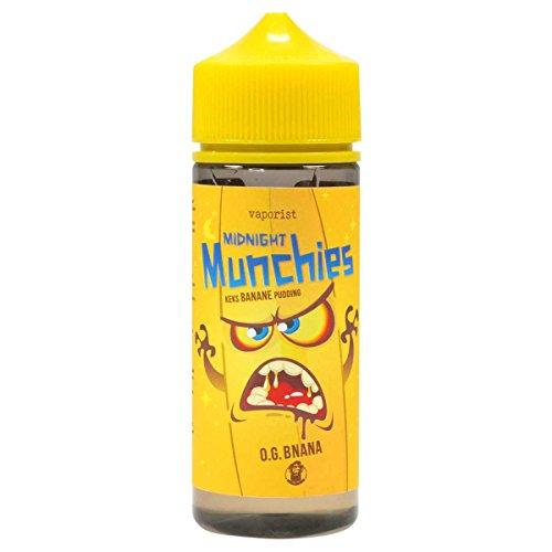 Vaporist e-Liquid Midnight Munchies O. G. Banana, Juice für Ihre e-Zigarette, 0.0 mg Nikotin, 100 ml