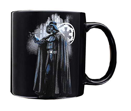 Star Wars Darth Vader 20OZ Ceramic Mug, 1 Count (Pack of 1), Black
