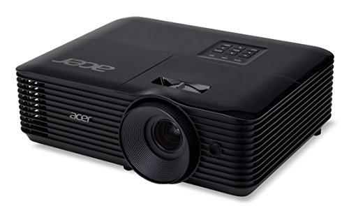 Acer Essential X118AH Ceiling-Mounted Projector 3600lúmenes ANSI DLP SVGA (800x600) Negro Video - Proyector (3600 Lúmenes ANSI, DLP, SVGA (800x600), 20000:1, 4:3, 584,2 - 7620 mm (23 - 300