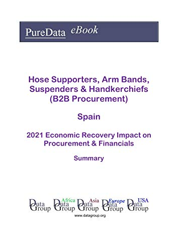 Hose Supporters, Arm Bands, Suspenders & Handkerchiefs (B2B Procurement) Spain Summary: 2021 Economic Recovery Impact on Revenues & Financials (English Edition)