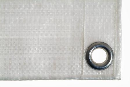 Bâche de protection 2 x 3 m 100 g/m2, beige