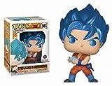 LUGJ Funko Pop Dragon Ball Kawaii Q Versión Nendoroid Anime Figura De Pelo Azul Goku En Caja Pop Vin...