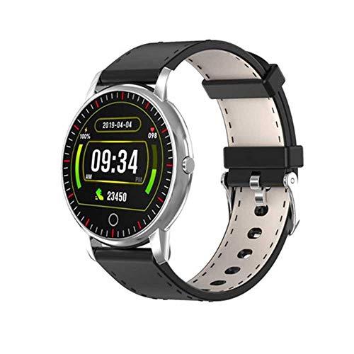 Promise2134 M324 Sport Stappenteller Kleur Scherm Smart Horloge Hartslag Health Monitoring Sport Waterdichte Armband, ZILVER