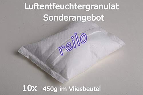 10x 450g Luftentfeuchter Granulat im Vliesbeutel - Nachfüllpack für Raumentfeuchter ab 400g