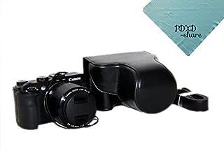 JJC LH-JDC100 Lens Hood Replace Canon LH-DC100 FA-DC67B G3X SX60 ...