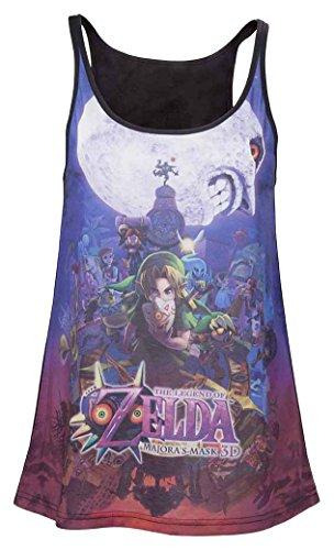 Nintendo Top (Damen) -S- Zelda Majora's Mask [Importación Alemana]