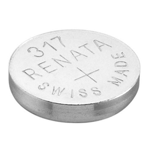 Batteria per orologi Ossido di argento Mercury Free Pila Maxell 317 SR516SW