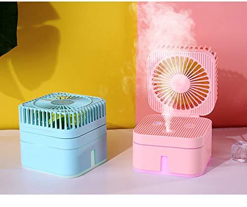 qingci Mini Humidificador De Ventilador De Cubo De Rubik USB Mini ...