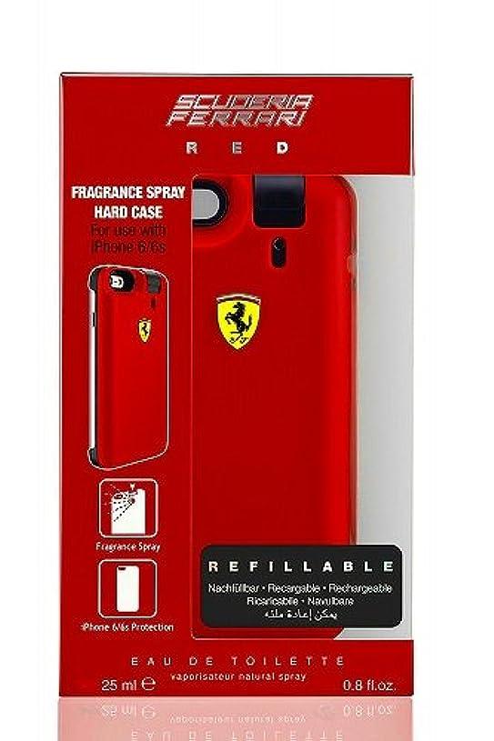 もろい増強する子羊◆【Ferrari】メンズ香水&iPhone6ケース◆フェラーリ レッド オードトワレ EDT 25mlX2◆