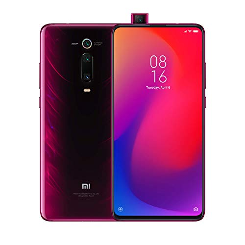 Xiaomi Mi 9T Pro Smartphone (16,23cm (6.39 Zoll) FHD+ AMOLED Bildschirm, 128GB interner Speicher + 6GB RAM, 48MP 3fach-KI-Rückkamera, 20MP Pop-up-Selfie-Frontkamera, Dual-SIM, Android 9.0) Flame Red